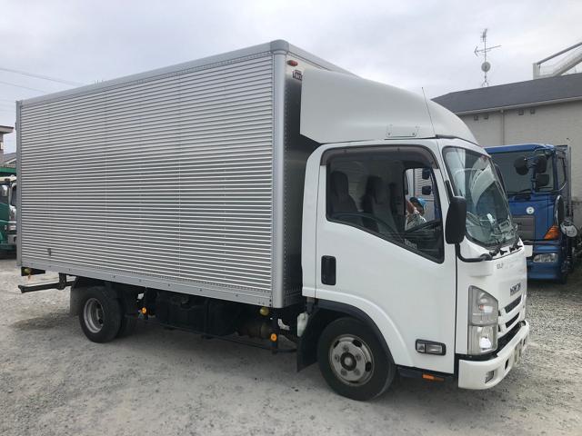 中古トラック H27年 いすゞ 2tバン スライドドア ターボ ETC