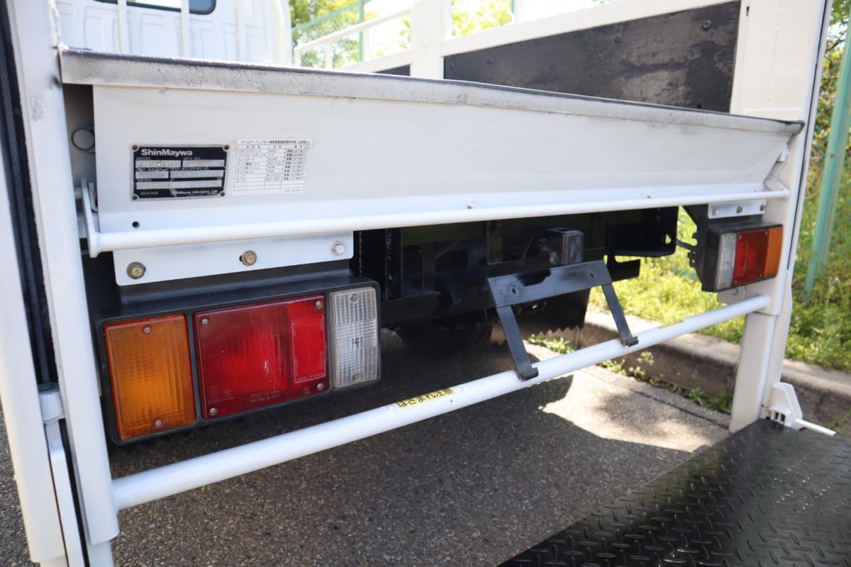 中古トラック H24年式 TKG-LKR85A 10尺 積載3t 垂直ゲート付 平