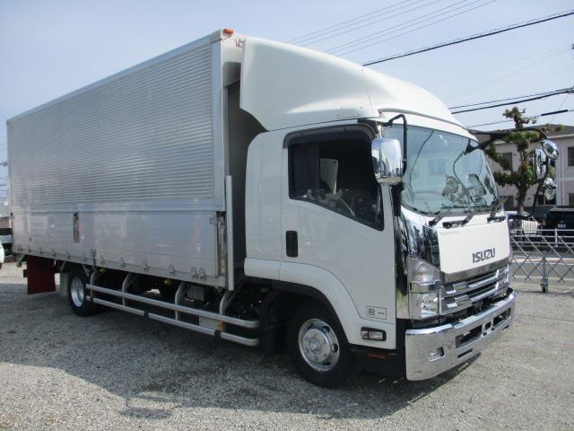 中古トラック 【動画】H30年 いすゞ 4tウイング 5万キロ ワイド