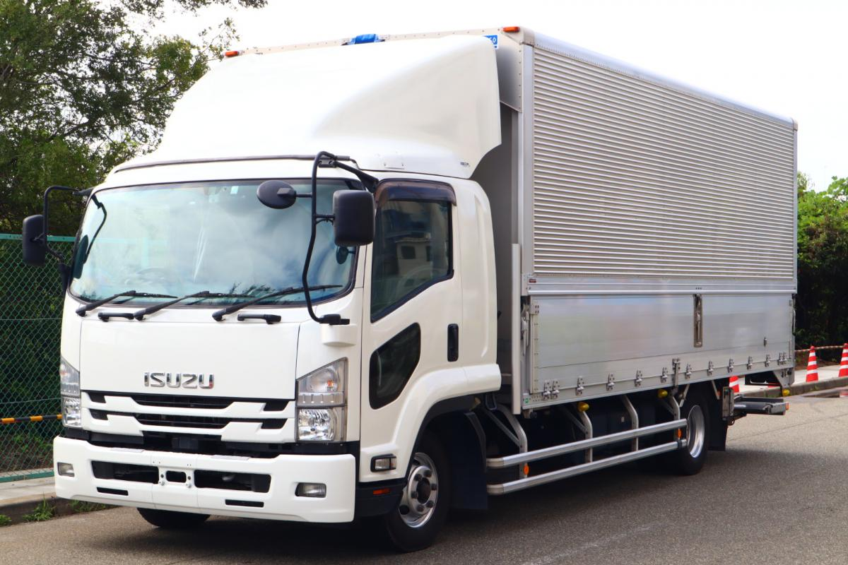 中古トラック 【動画】H30年式 2RG-FRR90T2 格納ゲート 予備検査付