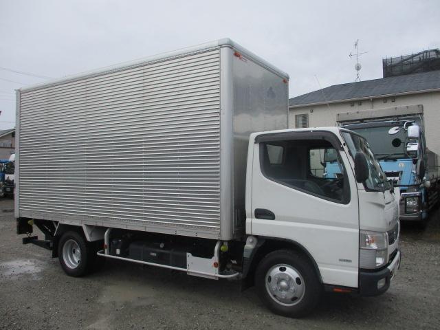 中古トラック 【動画】H28年 三菱 2tバン サイドドア 跳ね上げパワーゲート