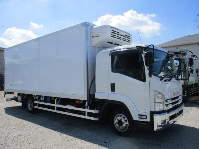 中古トラック 【動画】R2年 いすゞ 4t冷凍車 スタンバイ パワーゲート 車検付