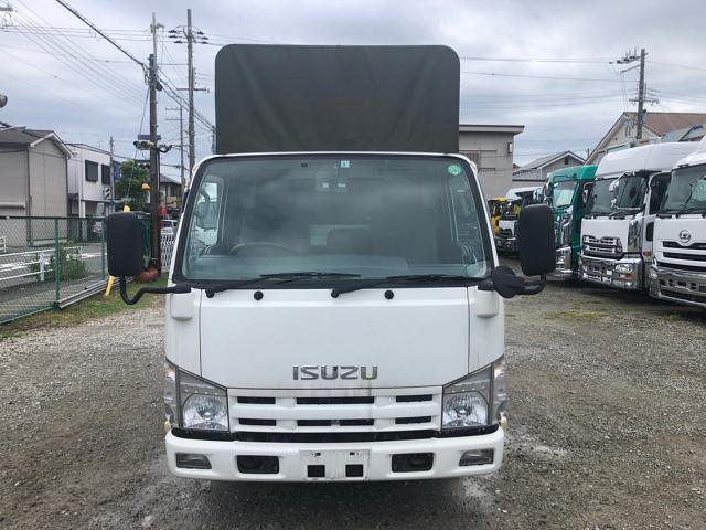 中古トラック 【動画】H24年 いすゞ 2t10尺 幌平 走行20万キロ AT車