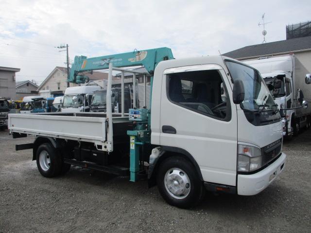 中古トラック 【動画】H18年 三菱 3tクレーン付平 走行14万キロ ラジコン付